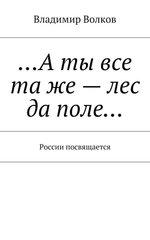 …Аты все таже– лес да поле… России посвящается